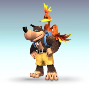 Super Smash Bros. Brawl Banjo Kazooie
